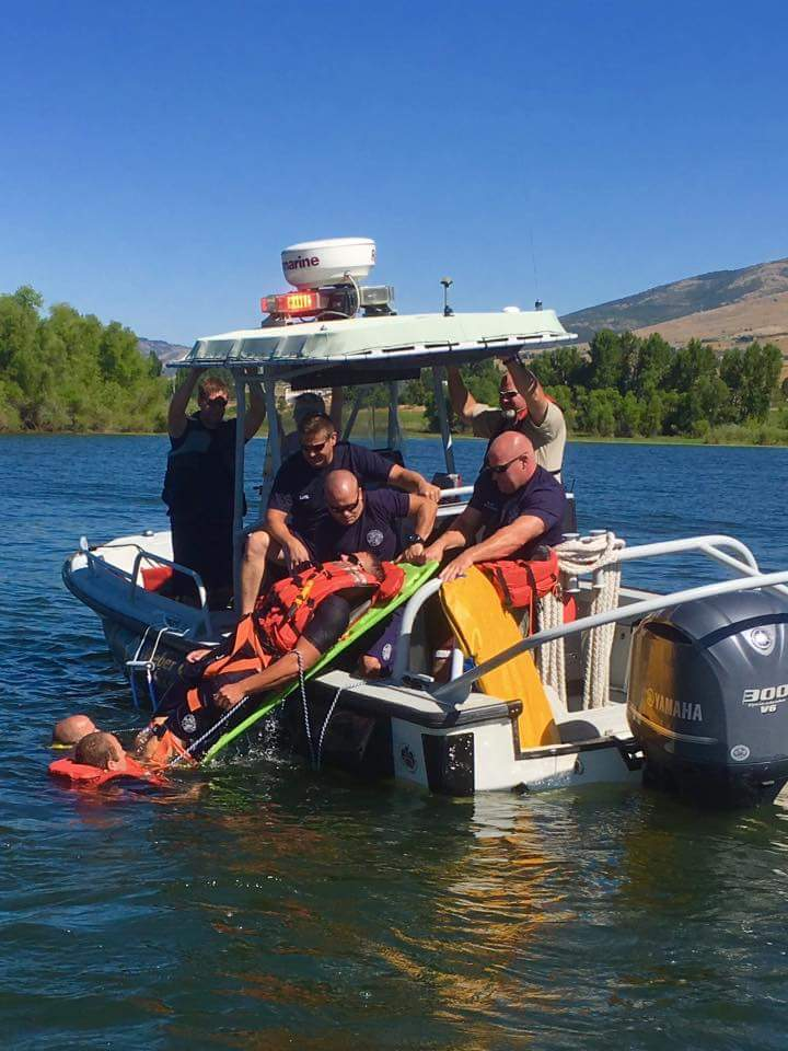 Pineview - Open Water Rescue Training