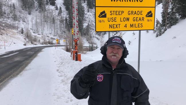 Safety Bridage Sunday - Driving Mountain