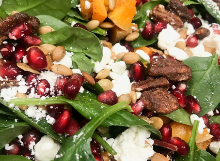 The Easiest Thanksgiving Salad