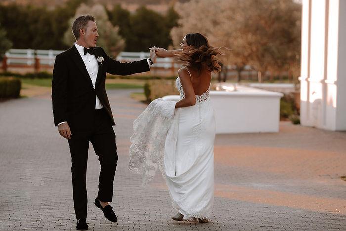 Vrede en Lust winelands wedding