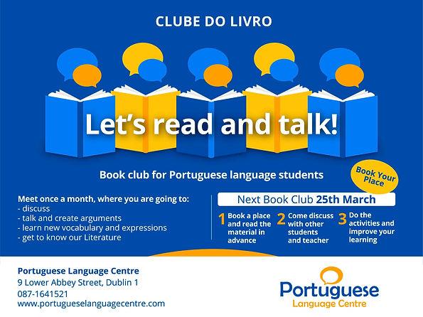 Clube do livro poster