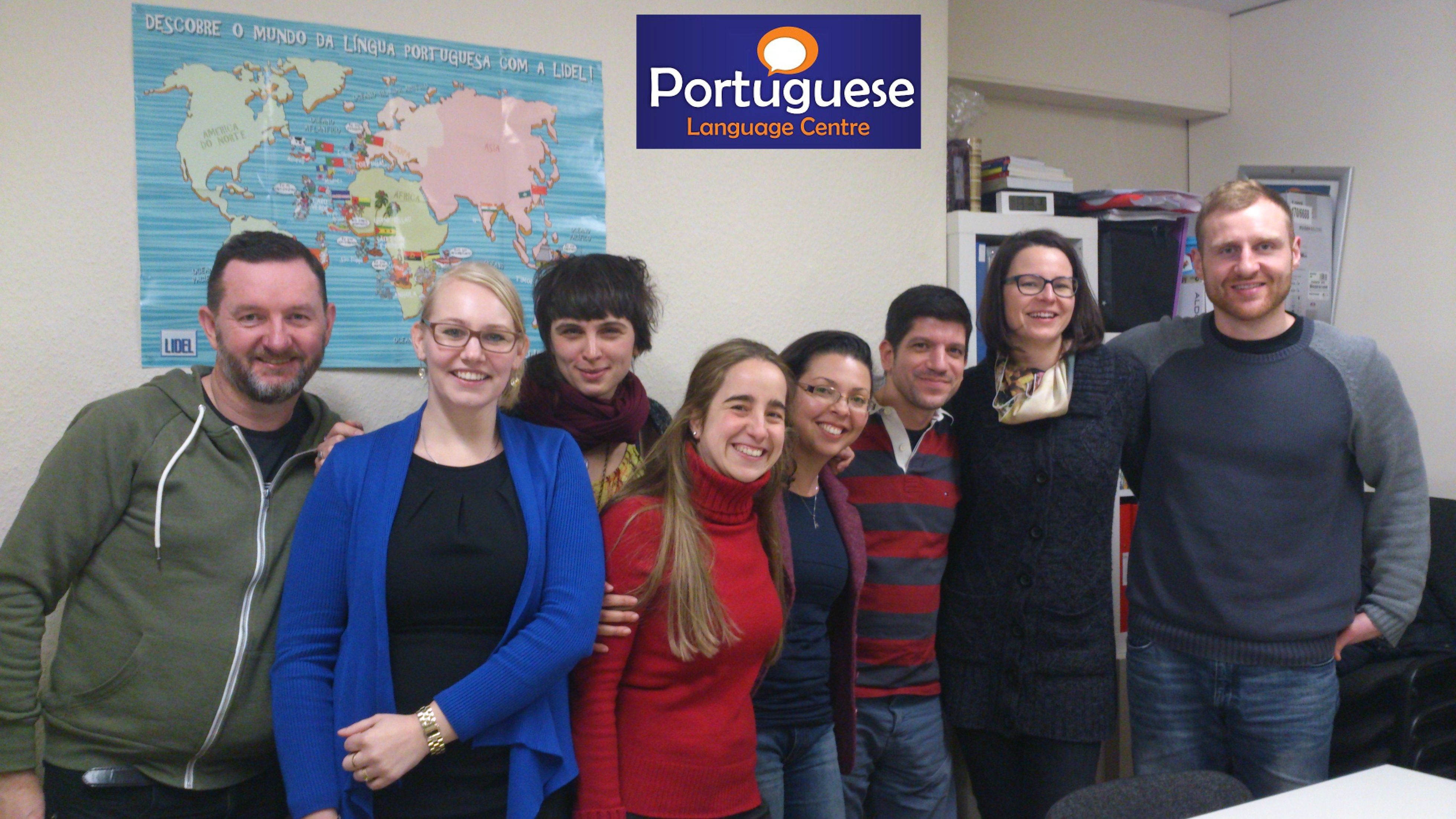 Portuguese Language Centre students 4
