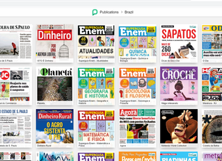 Free newspapers and magazines in Portuguese