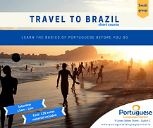 Saturday beginners course for people travelling to Brazil