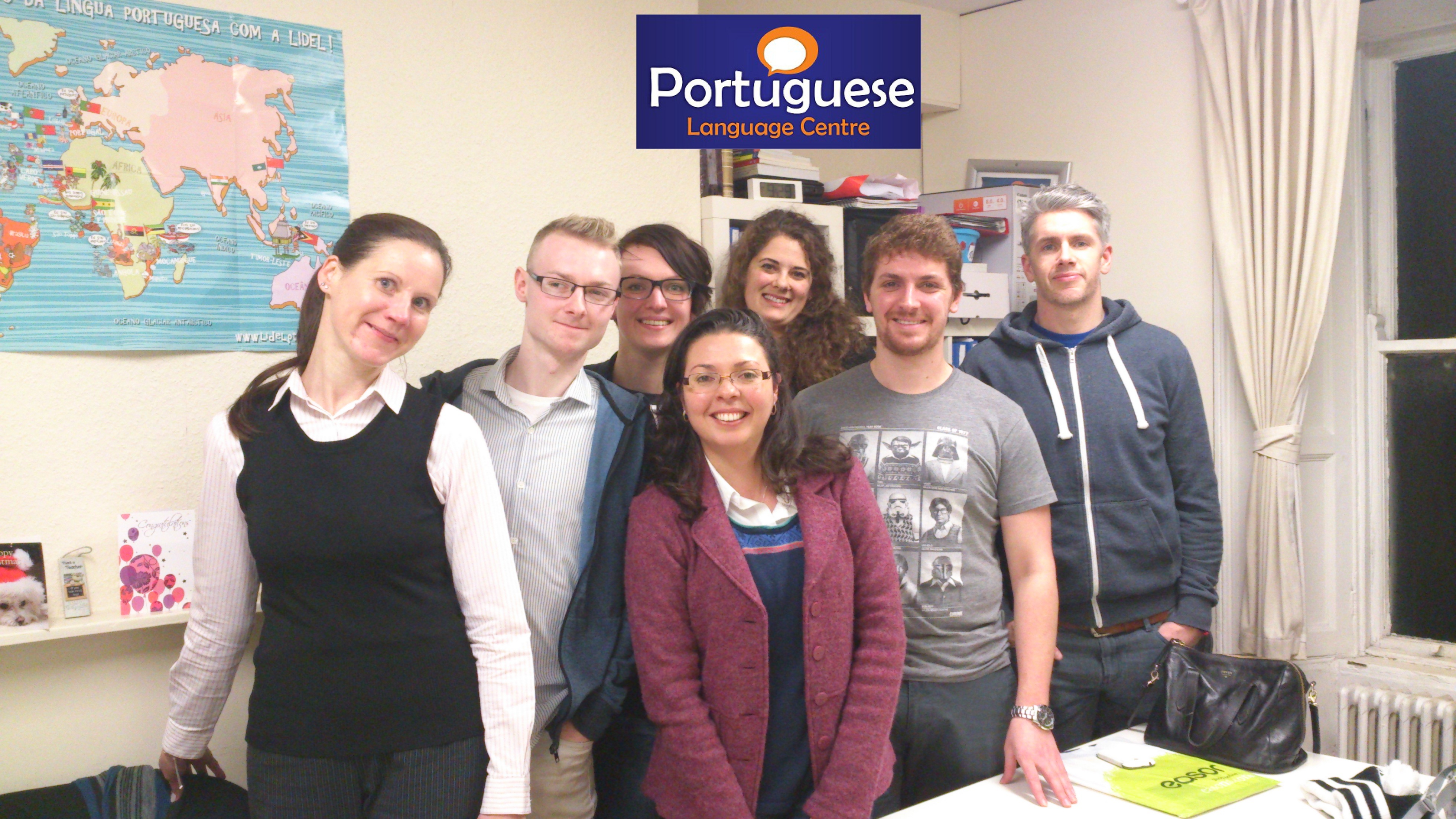 Portuguese Language Centre students 1