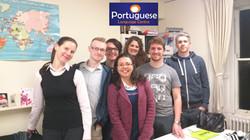 Portuguese Language Centre students 1