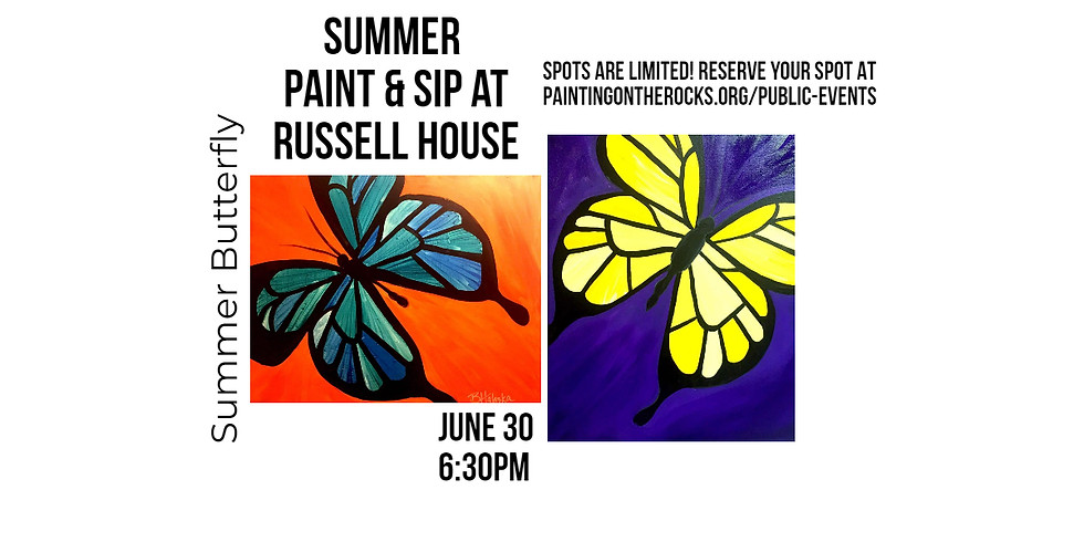 """""""Summer Butterfly"""" at Russell House"""