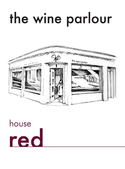 'Wine Parlour house wine label'