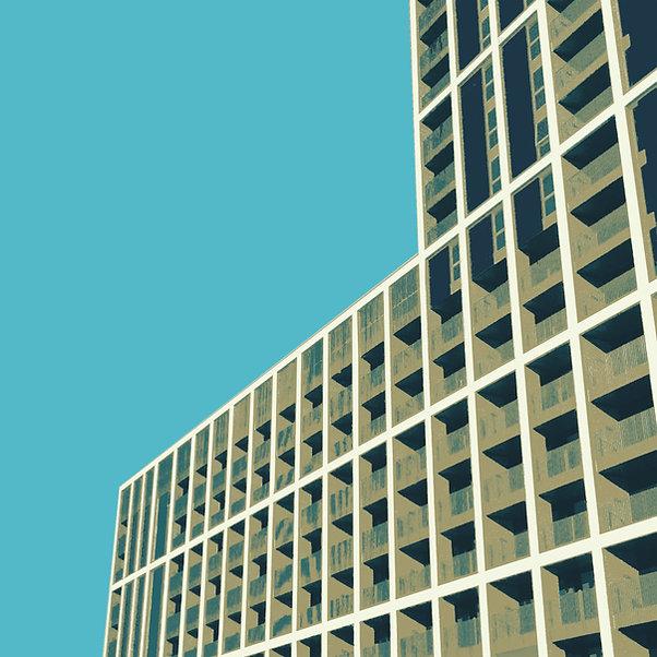 Tom Norman - 'Block' 2017, Giclée print