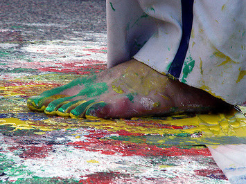 Capoeira painting project