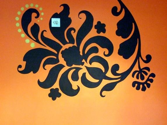 'Mughal e Azam detail'