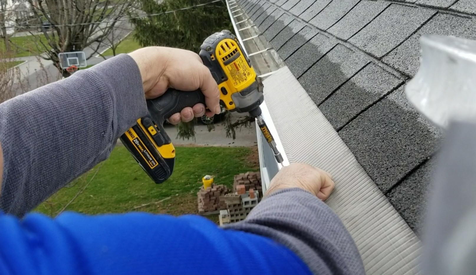 Guards Gutters Installation