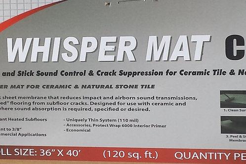 Whisper-Mat-Cs $  Per 120 S/F ROLLS