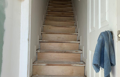 PREPARATION OF STAIRS
