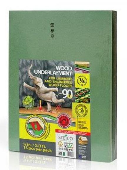 STEICO WOOD FIBER UNDERLAYMENT 90 S/F  $ 0.45 s/f