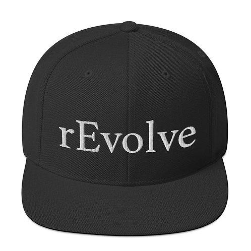 Snapback Hat Black