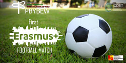 1st Erasmus+ Football match