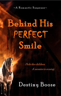 Behind His Perfect Smile Word Cover-page