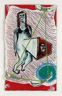 Untitled (reinterpretation of a drawing by Babette Wagenvoort)