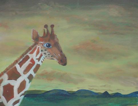 Giraffe Medicine-SOLD