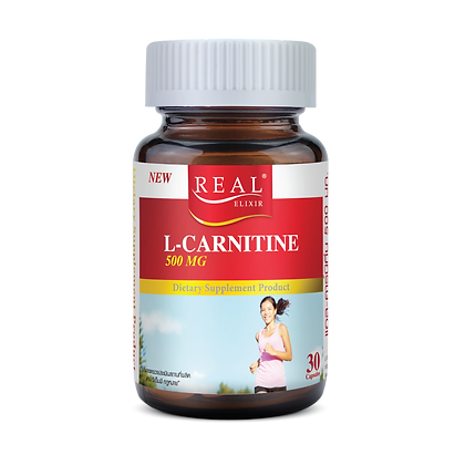 Real Elixir L-Carnitine 500 mg.
