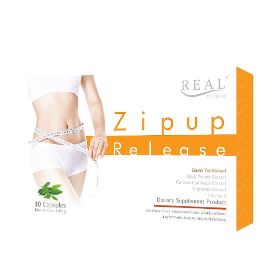 Real Elixir Zipup-Release ขนาด 10 แคปซูล