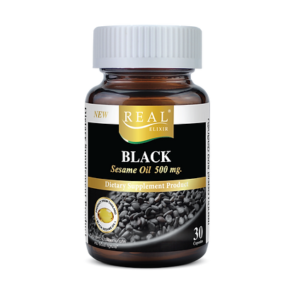Real Elixir Black Sesame Oil 500 mg