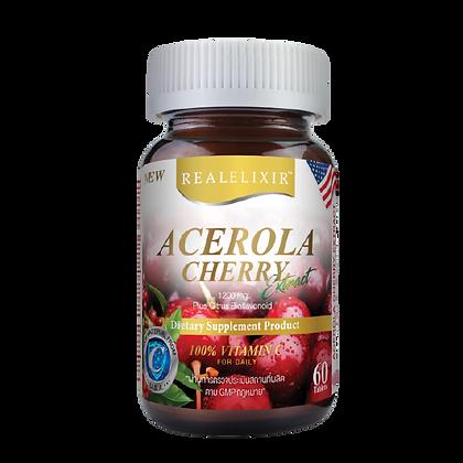 Real Elixir Acerola Cherry ขนาด 60 เม็ด