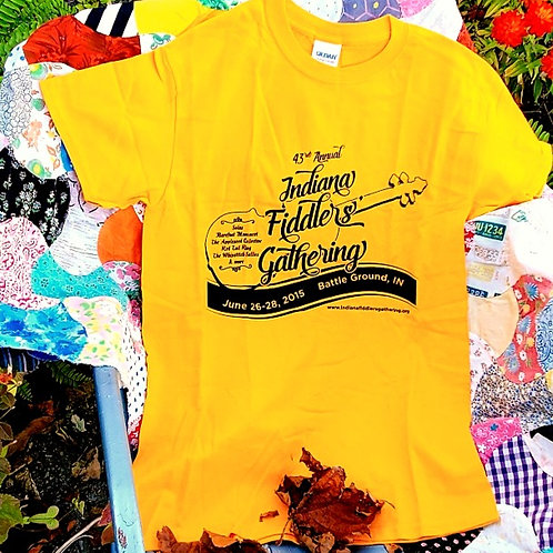 2015 Indiana Fiddlers' Gathering T-Shirt