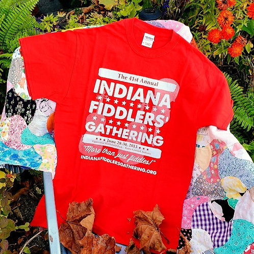 2013 Indiana Fiddlers' Gathering T-Shirt