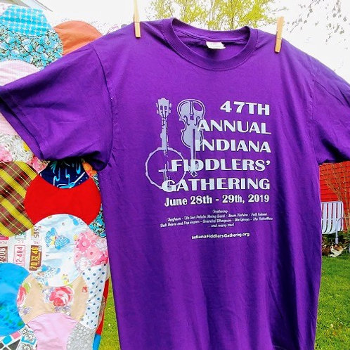 2019 Indiana Fiddlers' Gathering T-Shirt