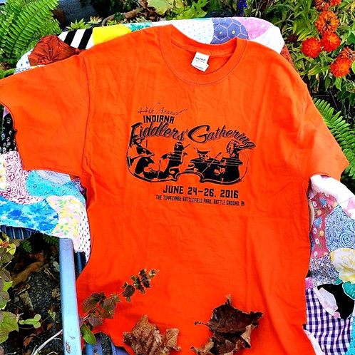 2016 Indiana Fiddlers' Gathering T-Shirt