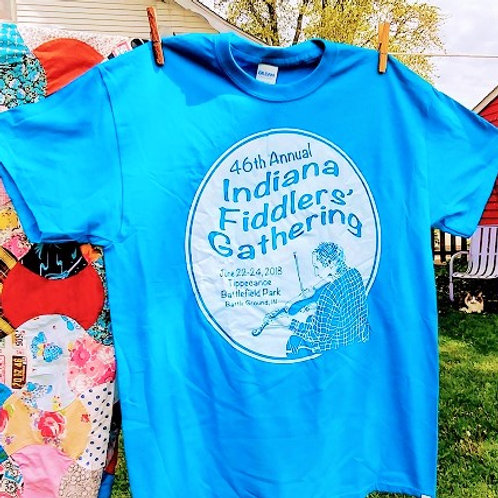 2018 Indiana Fiddlers' Gathering T-Shirt
