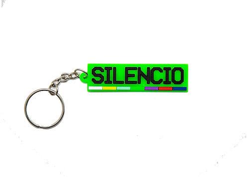 Silencio Broadcast System (SBS) Keychain.