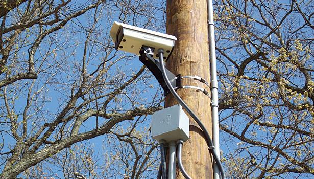 perimeter cctv camera installation