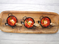 Mini Spanish huevos rancheros