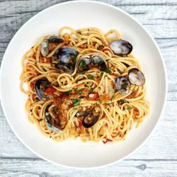Spaguetti vongole
