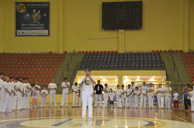 Intercâmbio Cultural de Capoeira movimenta Ginásio do Afonso Pena.