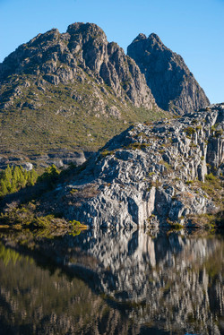Cradle Mountain reflection