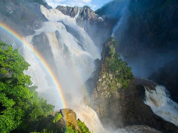Prints   Waterfalls   Din Din rainbow