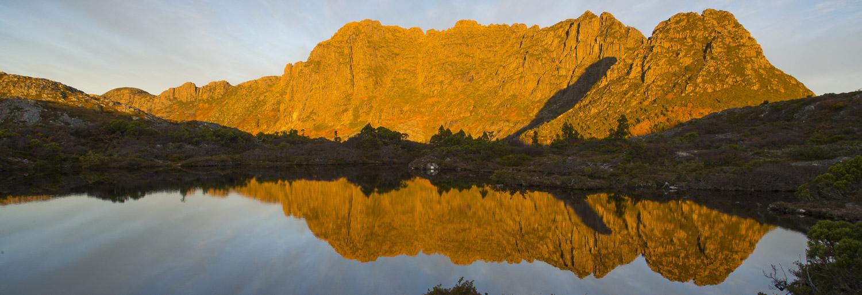 Sunrise over Cradle Mountain