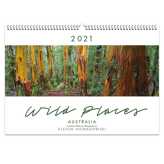 2021 Wild Places Wall Calendar