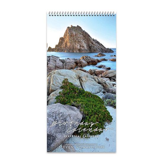 Birthday Slimline Calendar (perpetual)