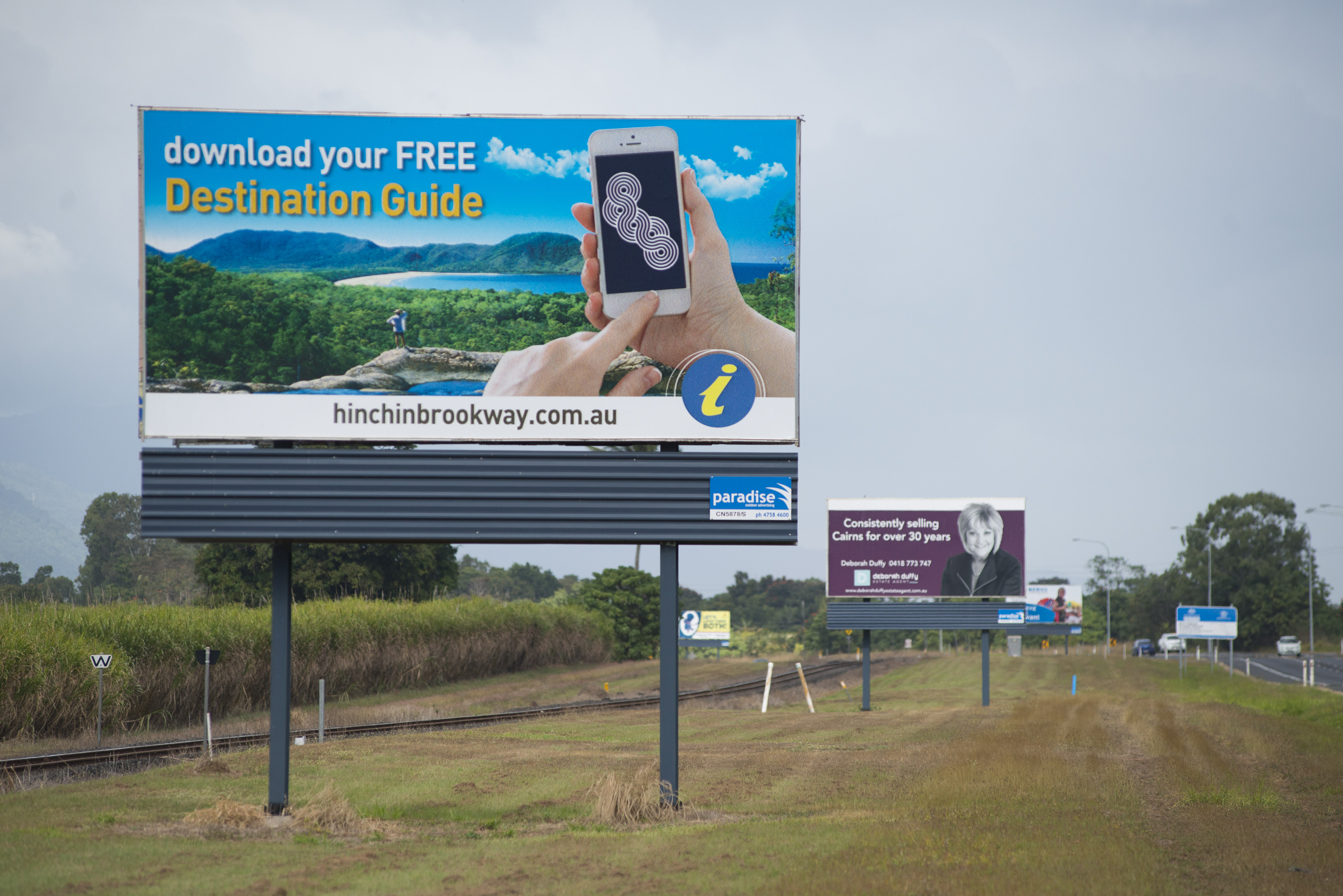 Hinchinbrook Shire Council billboard