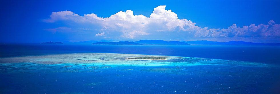 Prints | Seascapes | Green Island #1