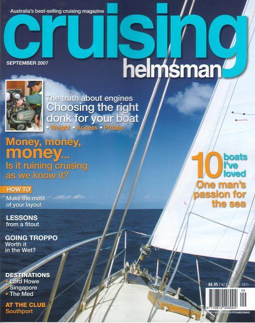 Cruising Helmsan magazine frontcover