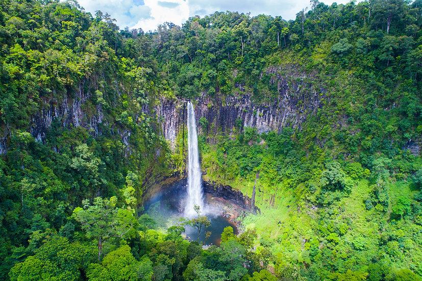 Prints   Waterfalls   Cannabullen Falls