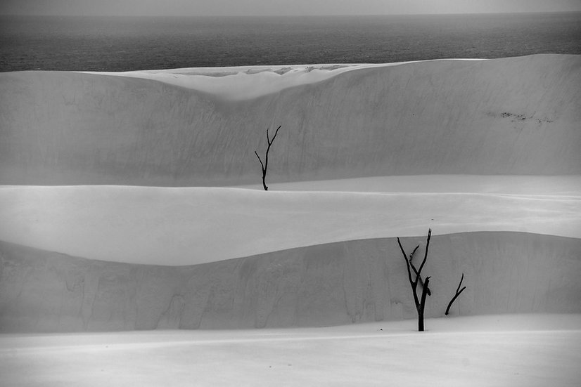 Prints | Seascapes | Stonetool Sandblow #2- Fraser Island