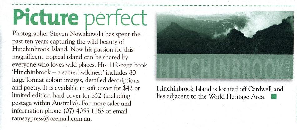 Wet Tropics Paper
