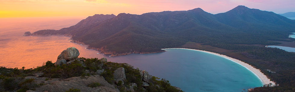 Prints | Seascapes | Freycinet rising